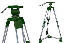 3D TV Studio Camera Pedestal  Tripot 3D