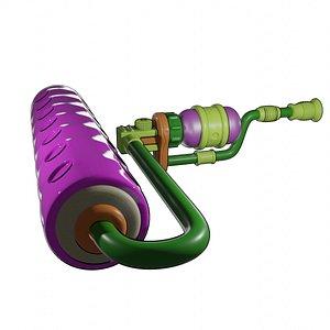 3D Splatoon roller