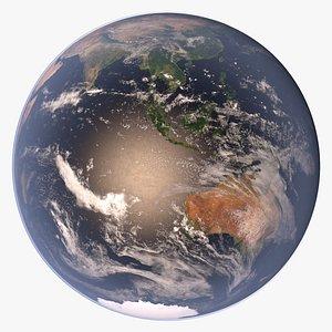 planet earth 64k 3D model