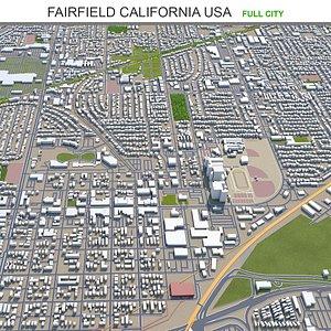 3D Fairfield California USA