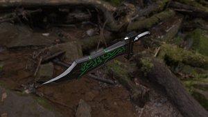 3D model big sword