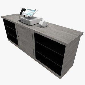 3D Sales Kiosk Checkout