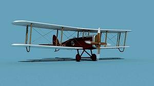 Airco DH-4 V01 US Air Mail 3D model