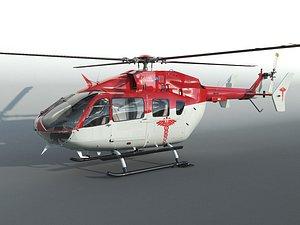 Eurocopter EC 145 3D model
