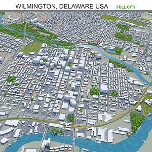 Wilmington Delaware USA 3D model