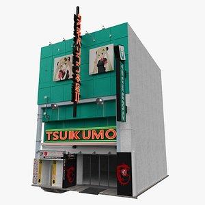 Tokyo Japanese Shop Building 3D model