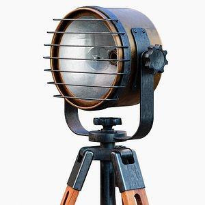 3D model LightOnTripod