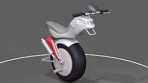 3D Motorized Unicycle
