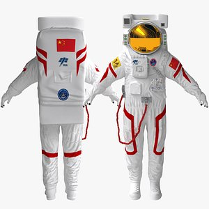 3D Feitian suit Spacesuit