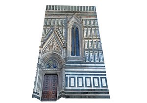 3D model Florence Cathedral 3