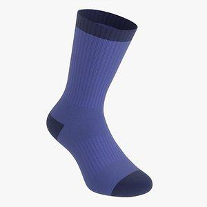 Sport sock long 3D model