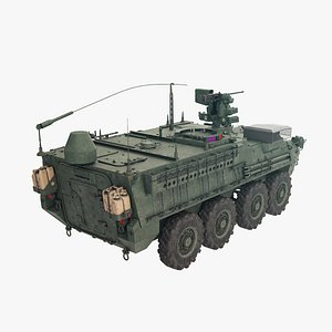 3D model Stryker M1130