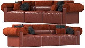 3D sofa natuzzi new classic model