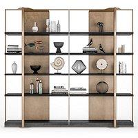 Caste Holt bookcase