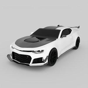 3D model camaro zl1 1le