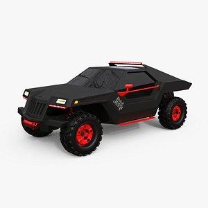 3D model NEW JEEP DAKAR CONCEPT DESIGN
