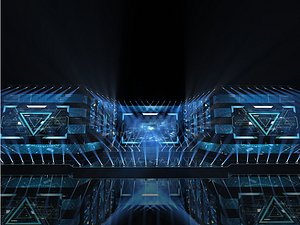 Stage concert stage design stage beauty New Year Eve electric music festival National tide light s 3D