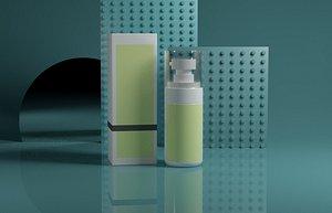 3D Cosmetics model