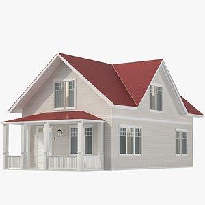 Family House 04 3D model