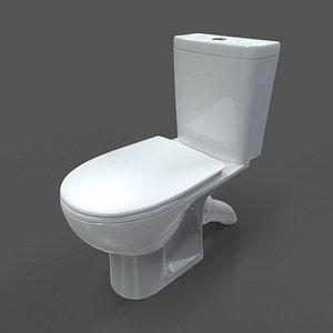 toilet colombo accent classic 3D model