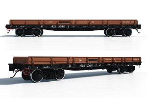 Train car Platform model 13-4012 model