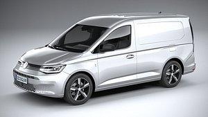Volkswagen caddy commerce pro van 2022 3D model