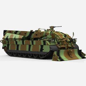 3D AMX  DCL  camuflag no interior