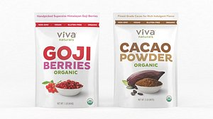 viva naturals organic cacao model
