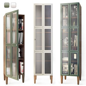 showcase bookcase book 3D