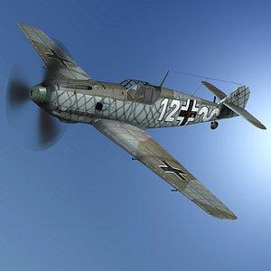 3D messerschmitt bf-109