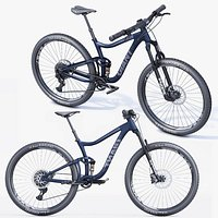 Realistic 3D Giant Mountain Bike