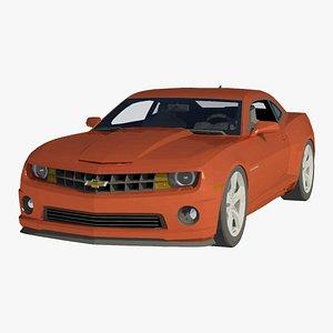 3D Chevrolet Camaro SS 2011