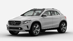 Mercedes Benz GLA Concept 2013 3D Model 3D