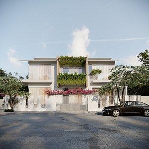 Exterior House Design 10 model