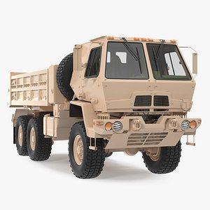 3D Oshkosh FMTV 10 Ton Dump Truck model