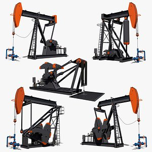 3D pumpjack pump jack