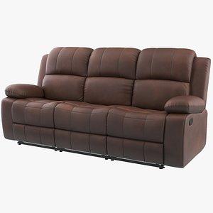 3D Reclining Sofa