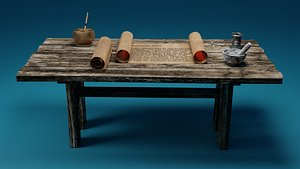 3D Ancient Instruments of Writing