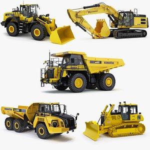 3D heavy construction model