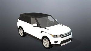 realistic car-1 animation 3D