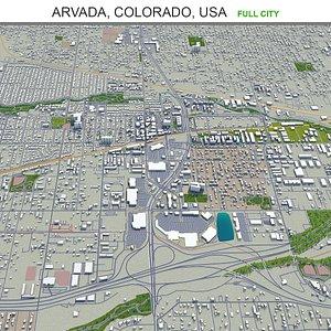 3D Arvada Colorado USA