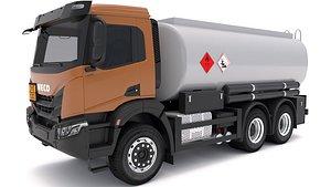 3D Iveco T-WAY 2021 Tanker