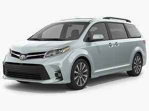 toyota sienna 2020 3D model