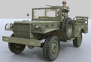 3D Dodge WC-51