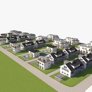 3D Residental Area 02