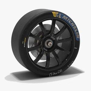 WEC LMP3 Racing Wheel 2021 3D model
