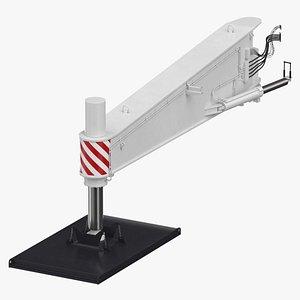 3D model crane outrigger large 02
