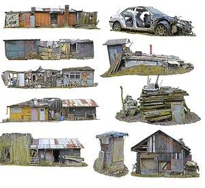 3D model slums scan