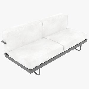3D sofa le corbusier cassina