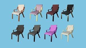Modern Armchair Collection - Furniture Interior Design 3D model